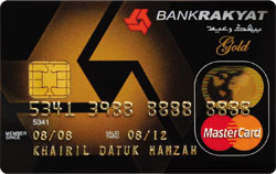 Bank Rakyat Classic and Gold Credit Card